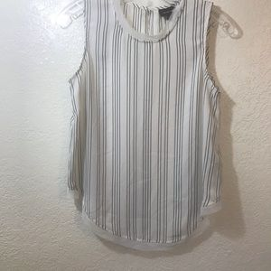Who What Wear striped tank top SZ XS